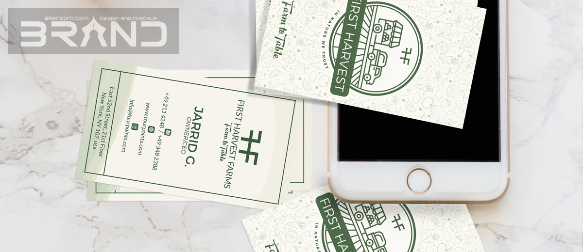 Business Card Graphic Design Examples - LOGO DESIGN AND BRANDING